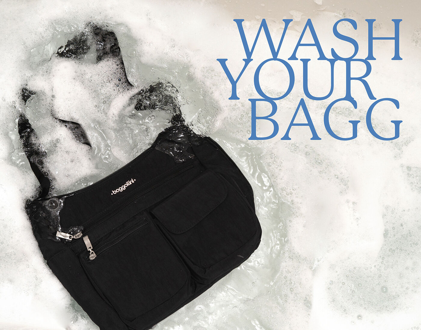 Get a quick refresh with our machine-washable bags