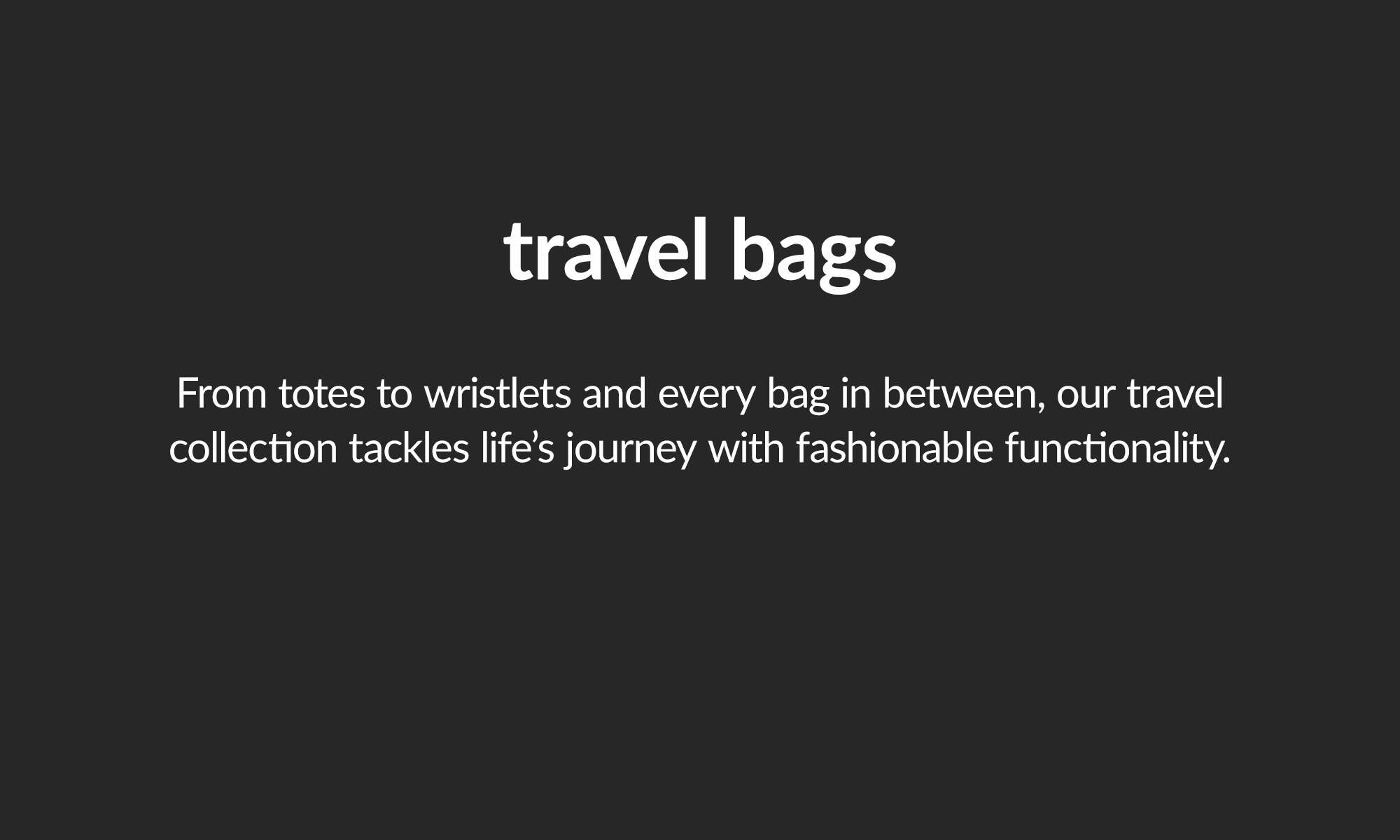 shop travel bags