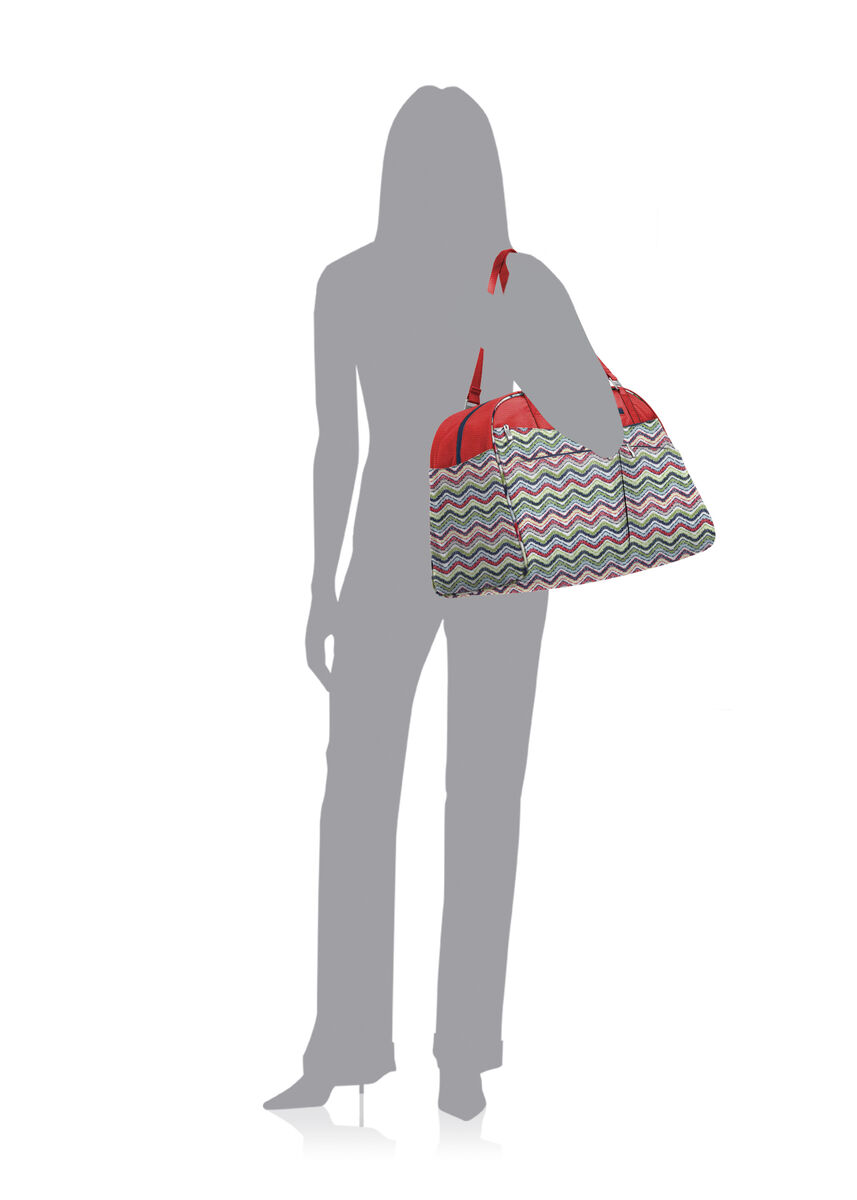 weekender tote bag with rfid wristlet