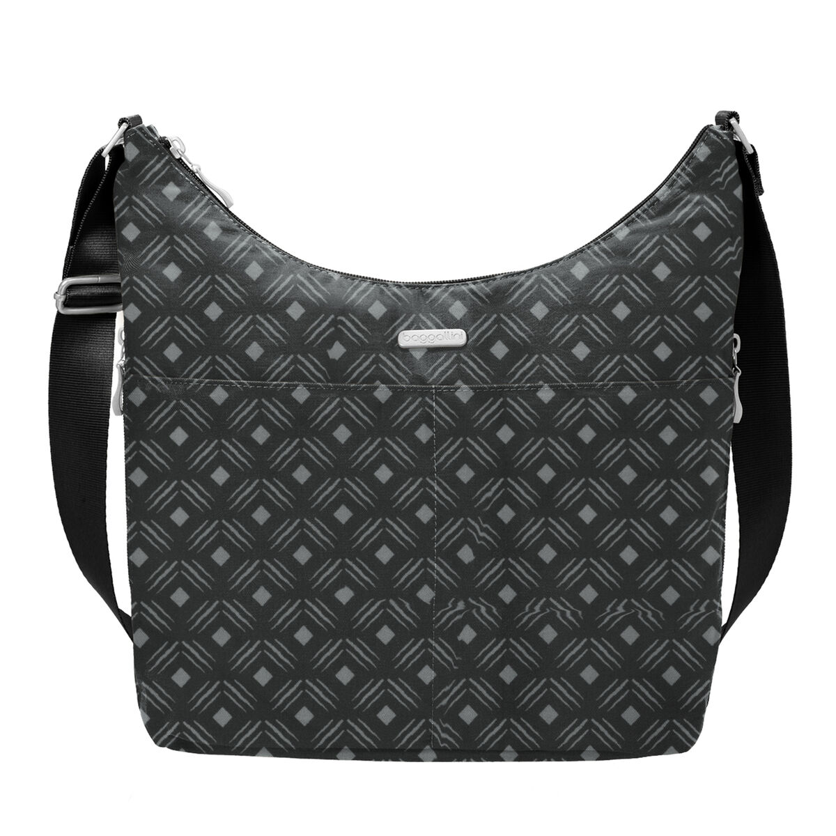 hobo crossbody bag with rfid wristlet
