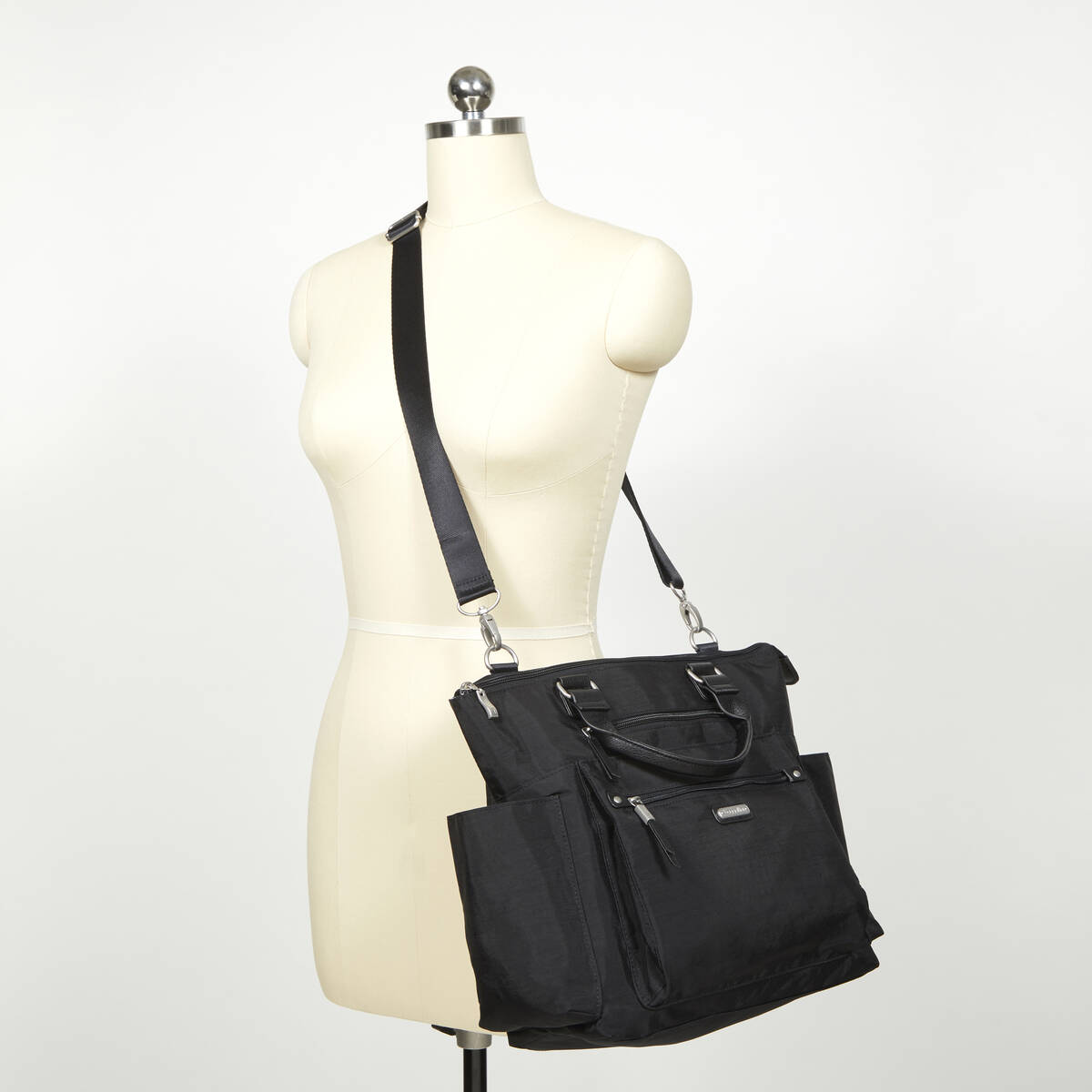 3-in-1 convertible backpack with rfid phone wristlet