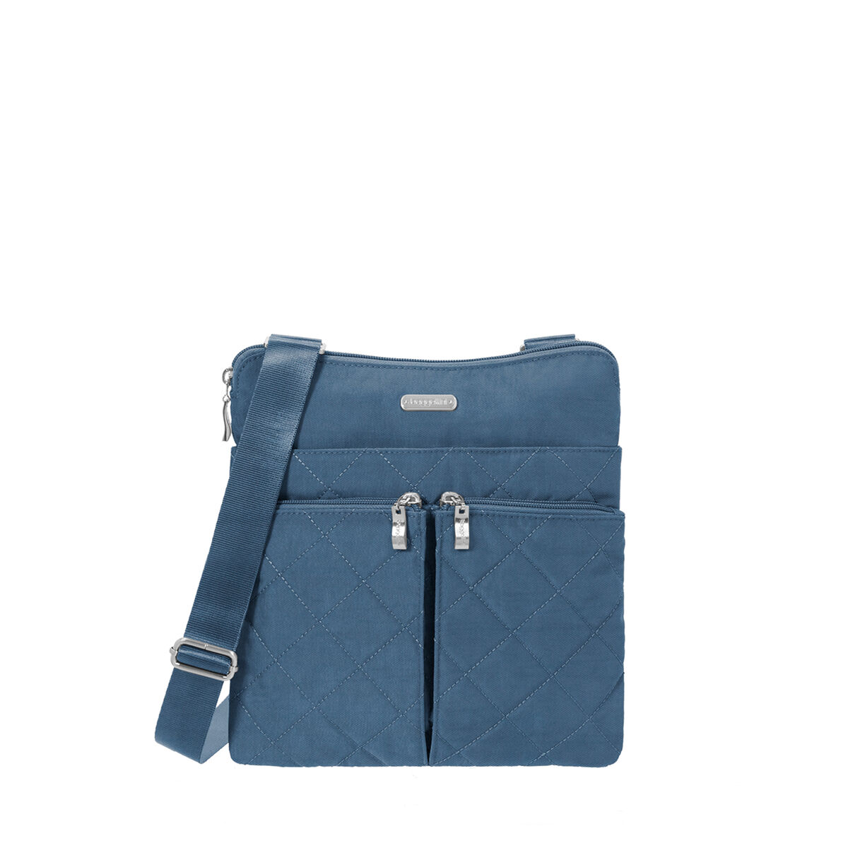 quilted horizon crossbody bag with rfid wristlet