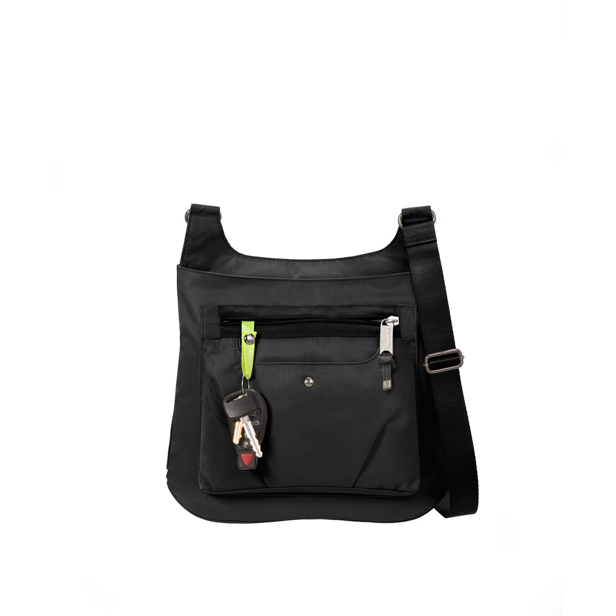 savvy top zip crossbody