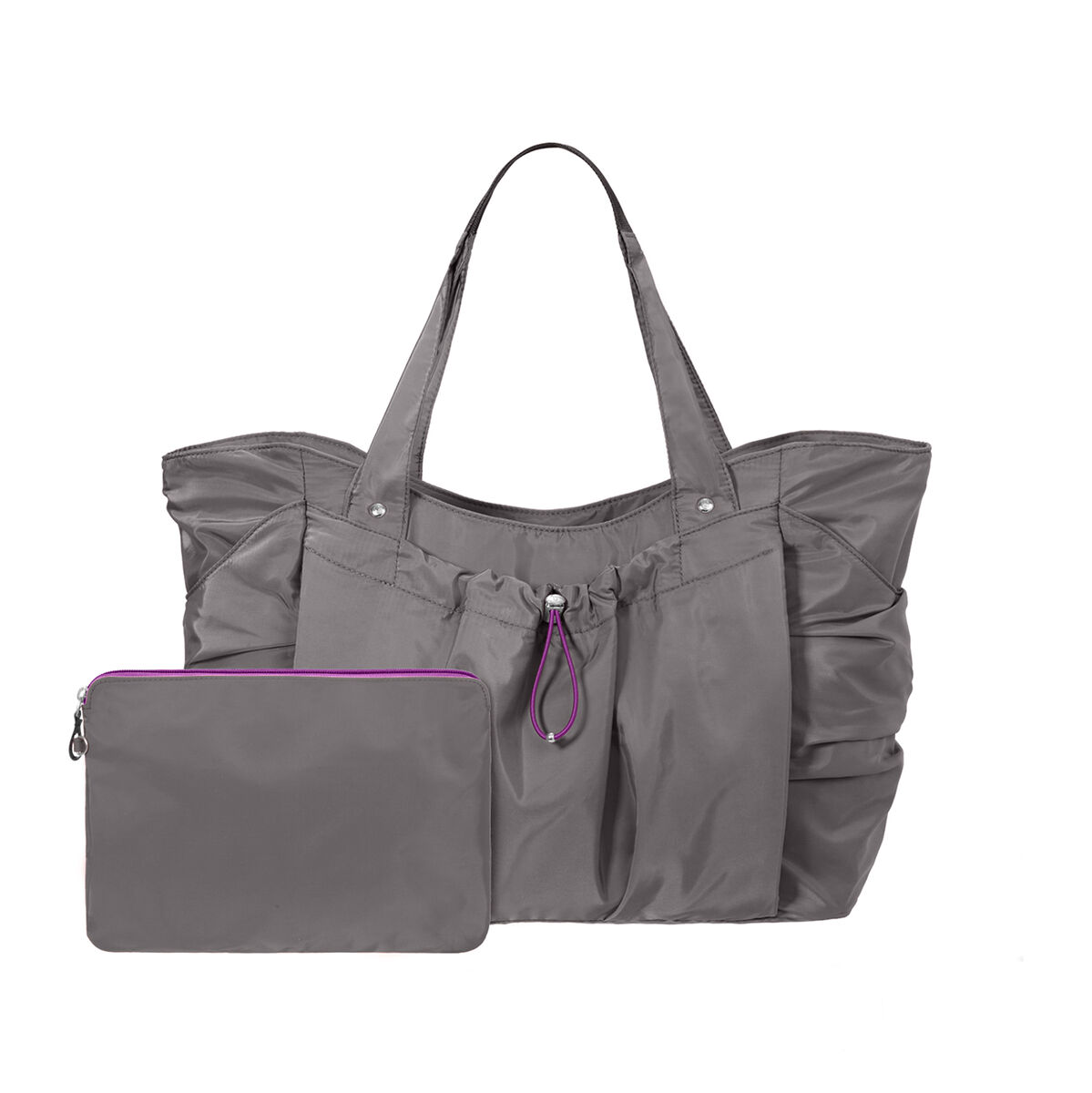 balance medium yoga tote bag