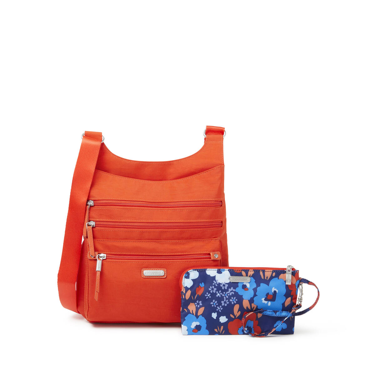 around town bagg with rfid phone wristlet