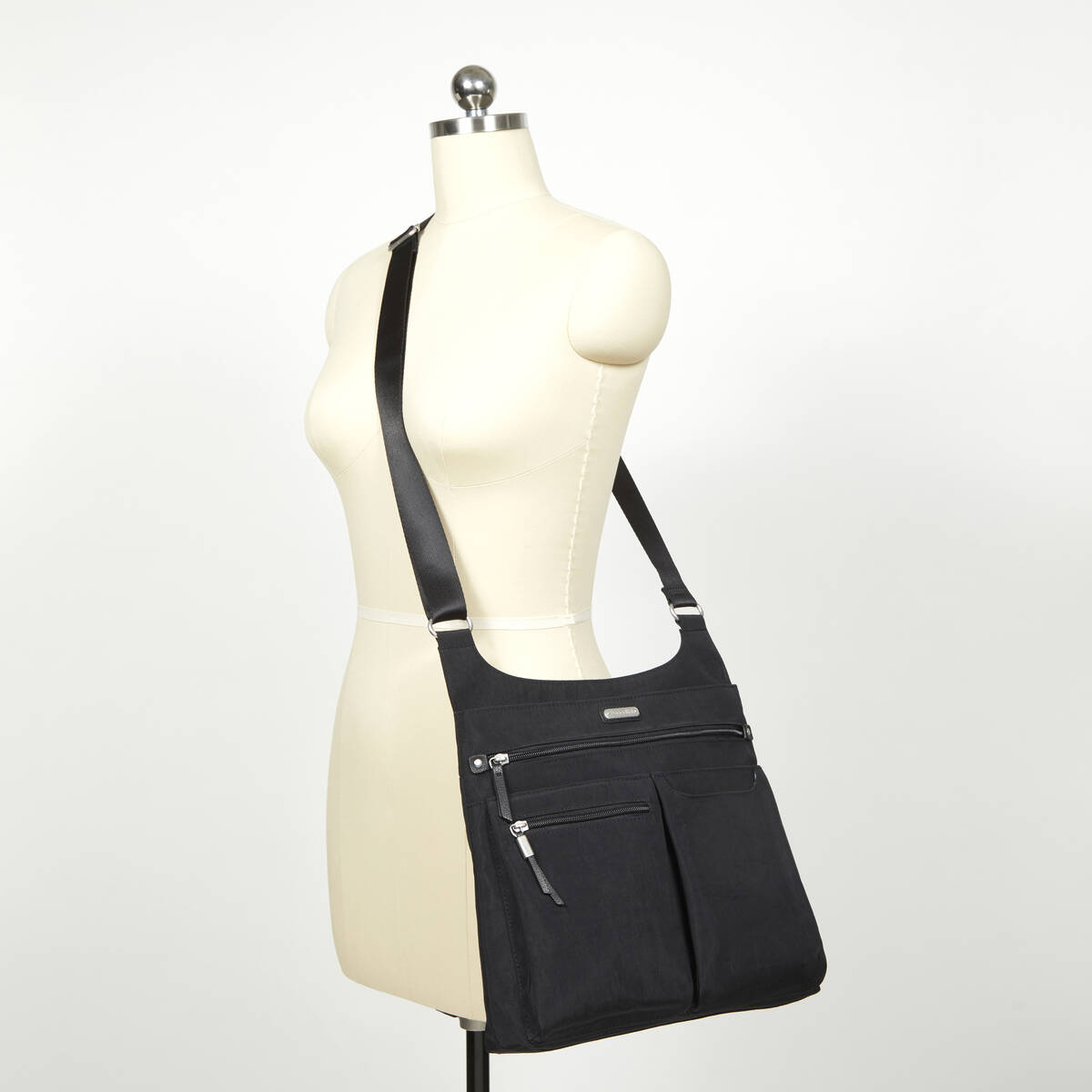 on track zip crossbody with rfid phone wristlet