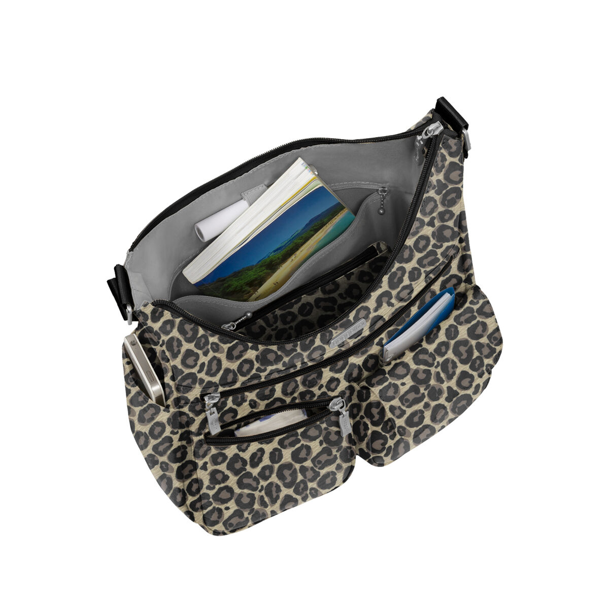 everywhere bagg with rfid wristlet