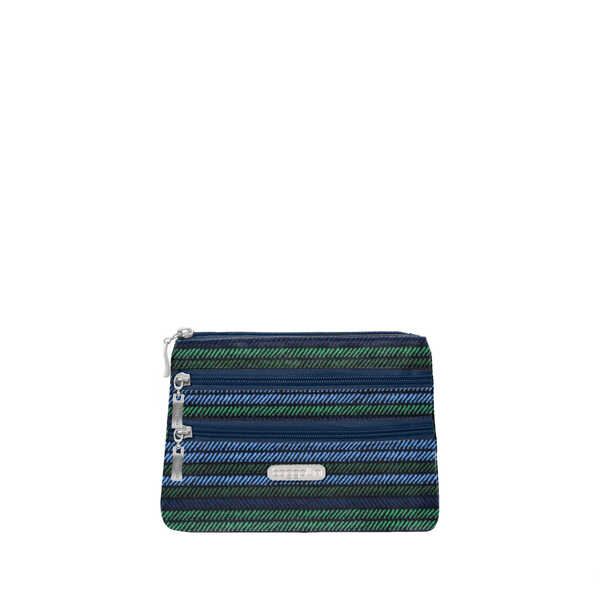 3 zip cosmetic case