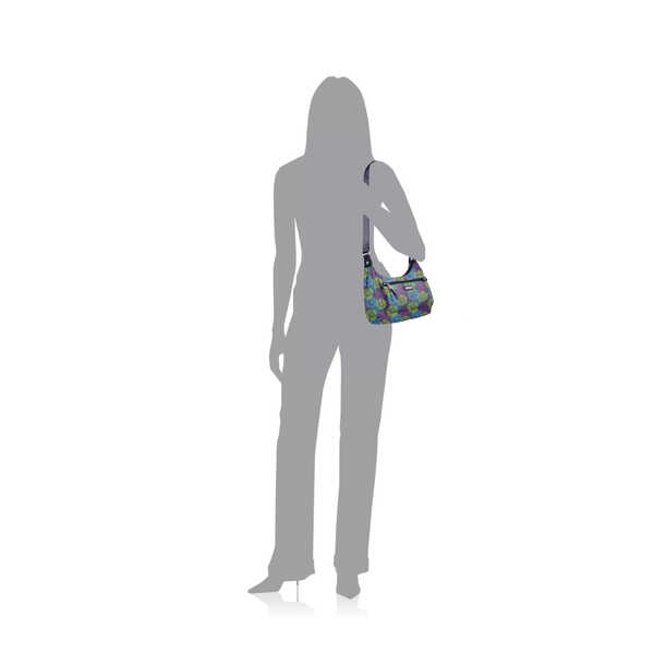 out and about bagg with RFID phone wristlet