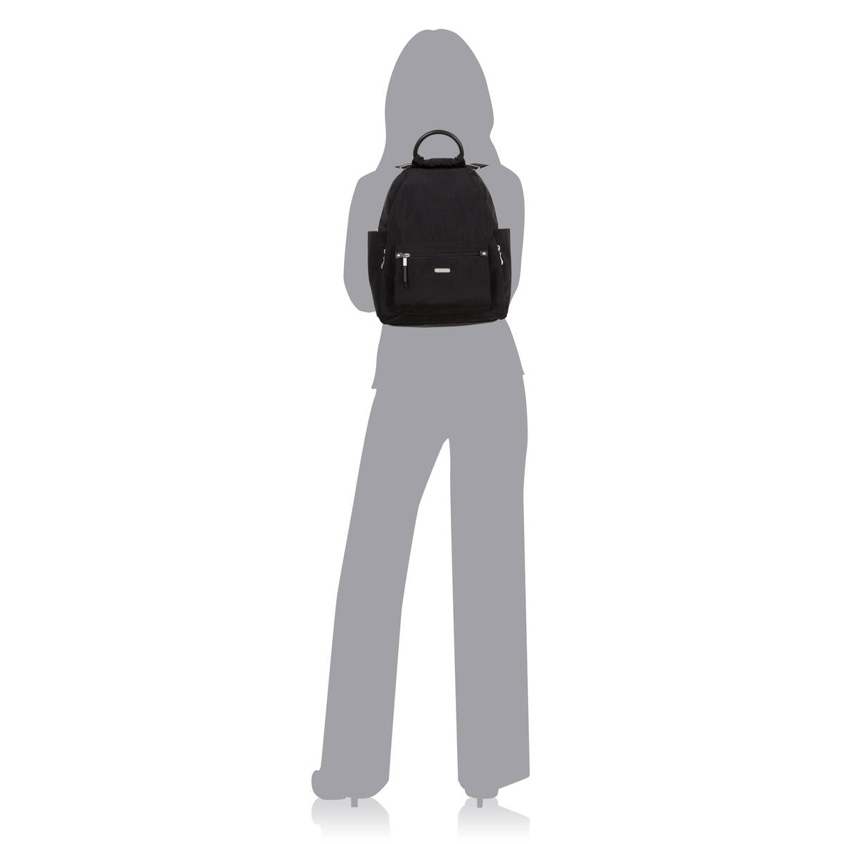 all day backpack with rfid phone wristlet