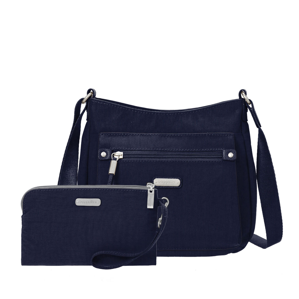 uptown bagg crossbody with rfid phone wristlet