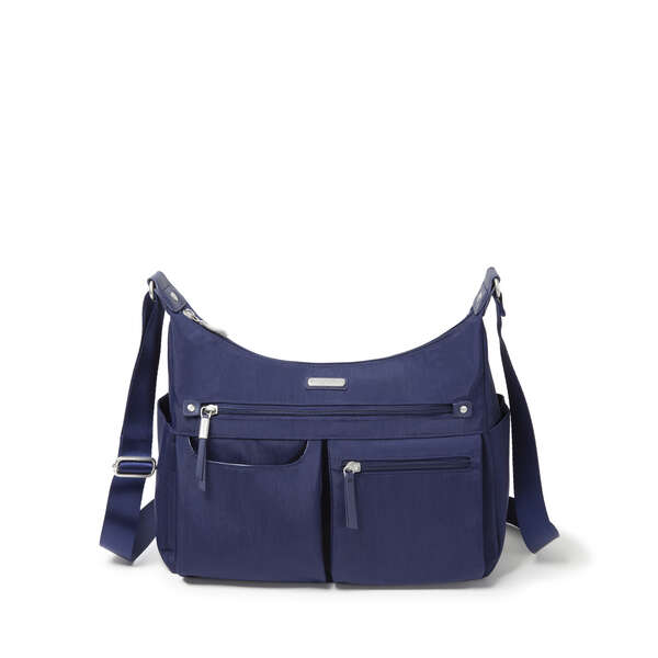 anywhere large hobo tote with rfid phone wristlet