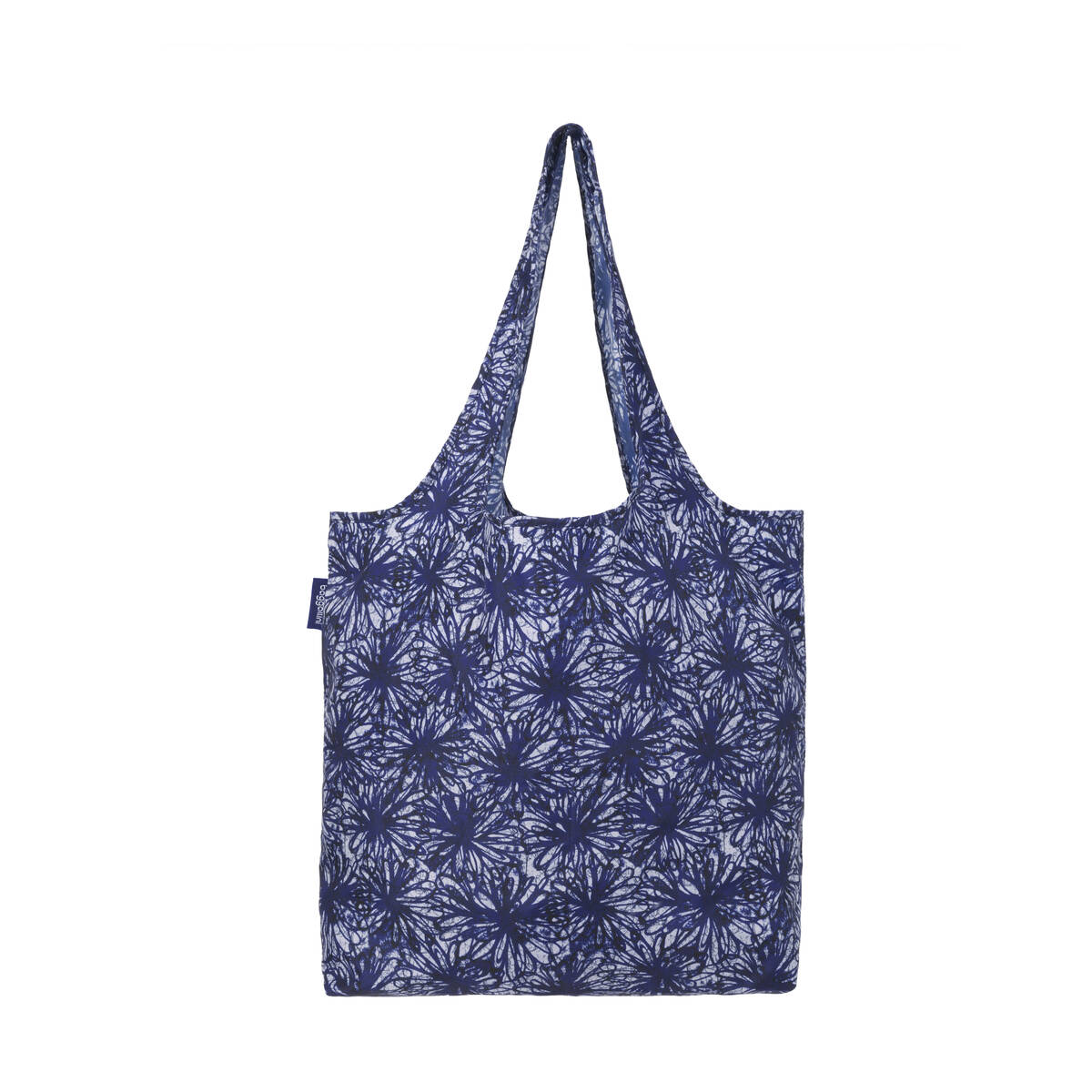 printed reusable shopper tote