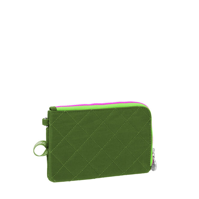 rfid passport & phone wristlet