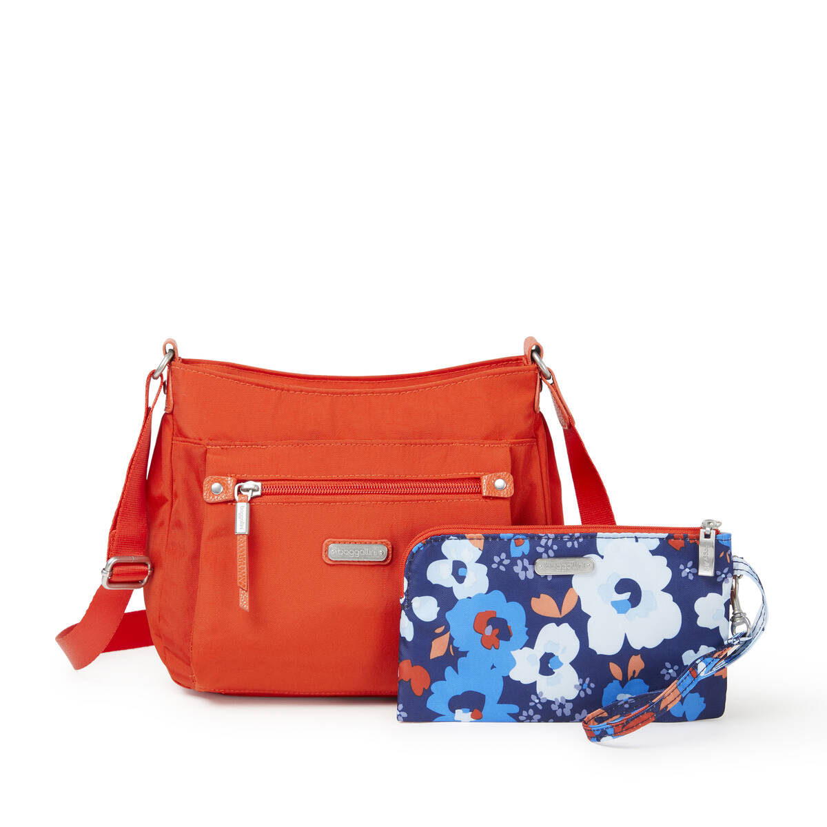 uptown bagg with rfid phone wristlet