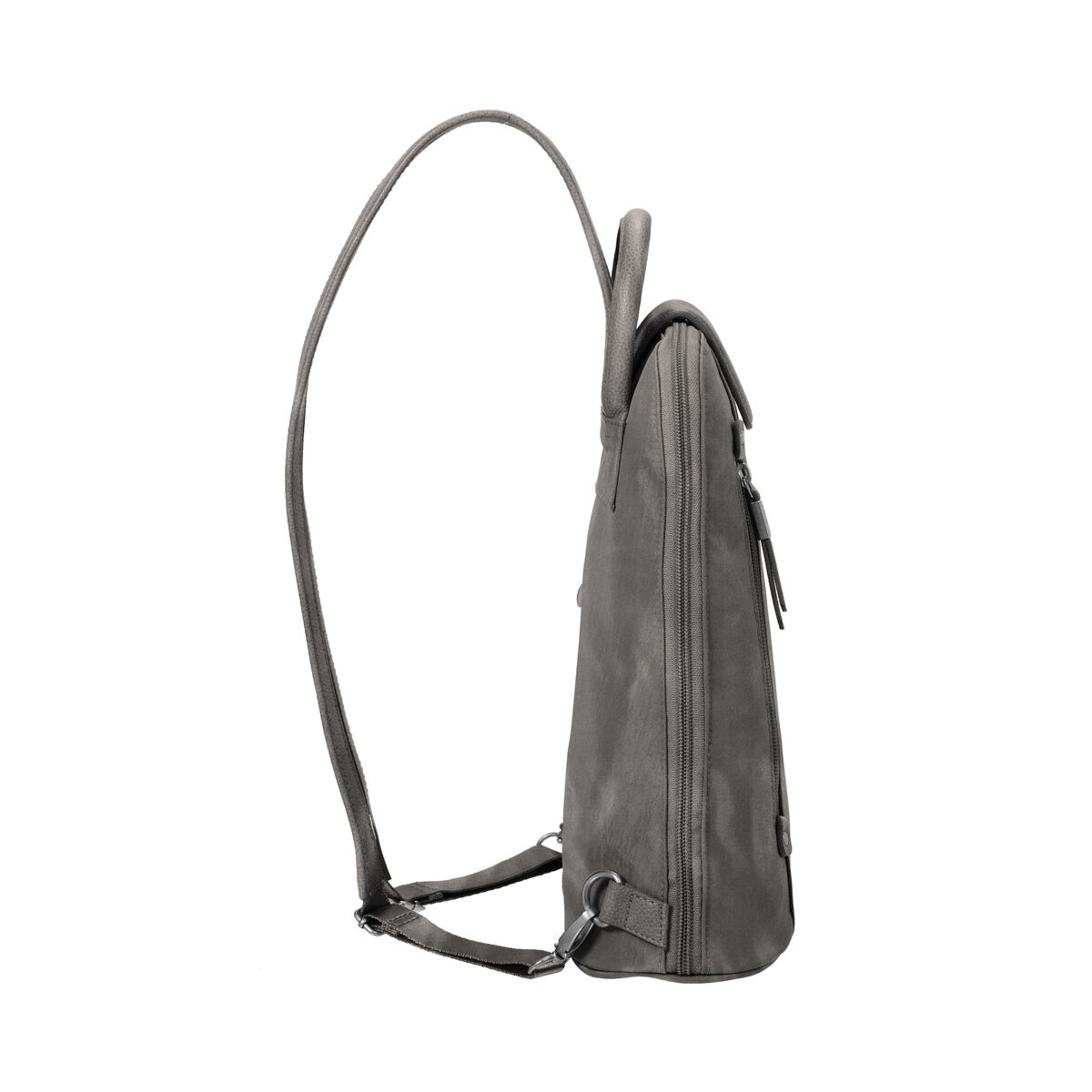 metro backpack with rfid phone wristlet