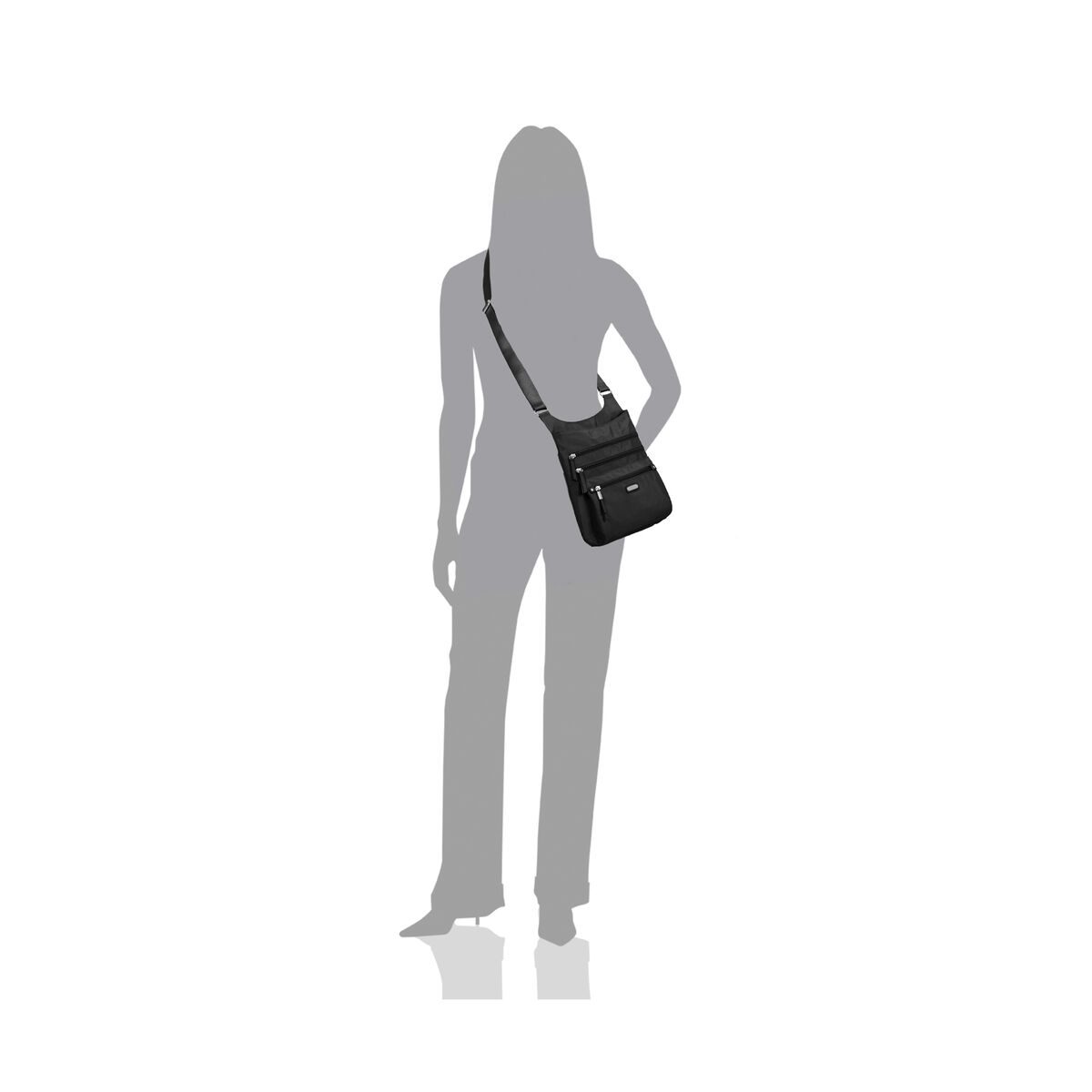 around town bagg crossbody with rfid phone wristlet
