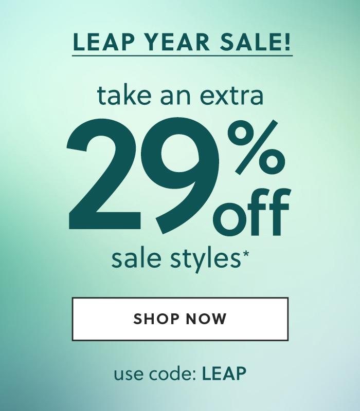 leap year sale!