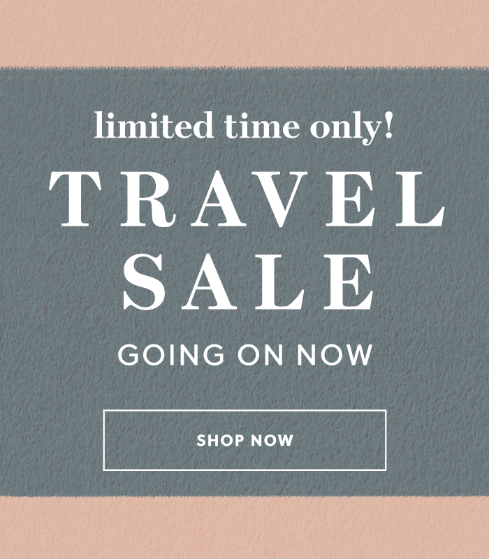limited time only! travel sale